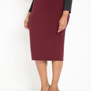 Eloquii Knit Column Skirt